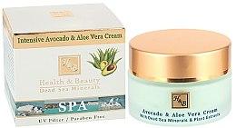 Parfémy, Parfumerie, kosmetika Intenzivní krém Avokádo a aloe - Health And Beauty Intensive Avocado & Aloe Vera Cream