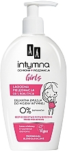 Parfémy, Parfumerie, kosmetika Emulze pro intimní hygienu - AA Baby Girl Emulsion