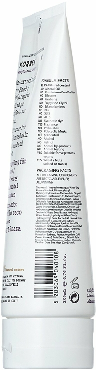 Kondicionér pro suché a poškozené vlasy - Korres Almond And Linseed Conditioner For Dry And Damaged Hair — foto N2