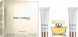 Parfémy, Parfumerie, kosmetika Dolce & Gabbana The One - Sada (edp/75ml + b/l/50ml + sh/g/50ml)