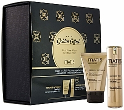 Parfémy, Parfumerie, kosmetika Sada - Matis Golden Coffrete Densifiance (f/cr/50ml + eye/balm/15ml)