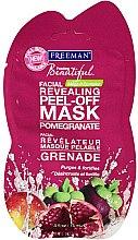 Parfémy, Parfumerie, kosmetika Slupovací pleťová maska Granátové jablko - Freeman Feeling Beautiful Peeling Facial Mask with Pomegranate (mini)