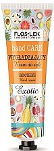 Parfémy, Parfumerie, kosmetika Vyhlazující krém na ruce - Floslek Hand Care Smoothing Cream Exotic