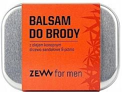 Parfémy, Parfumerie, kosmetika Balzám na vousy s konopným olejem - Zew Beard Balm