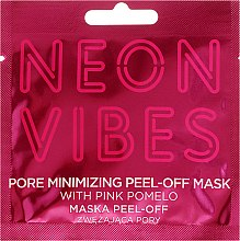 Parfémy, Parfumerie, kosmetika Maska na obličej - Marion Neon Vibes Pore Minimizing Peel-off Mask