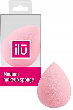Parfémy, Parfumerie, kosmetika Houbička kapka, růžová - Ilu Sponge Raindrop Medium Pink