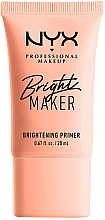 Parfémy, Parfumerie, kosmetika Zesvětlující primer na obličej - NYX Professional Bright Maker Brightening Primer