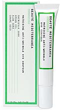 Parfémy, Parfumerie, kosmetika Omlazující peptidový krém na oči proti tmavým kruhům - Beaute Mediterranea Matrikine Anti-Wrinkle Eye Contour