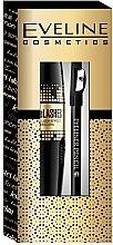 Parfémy, Parfumerie, kosmetika Sada - Eveline Cosmetics (mascara/10ml + pencil/1.2g)