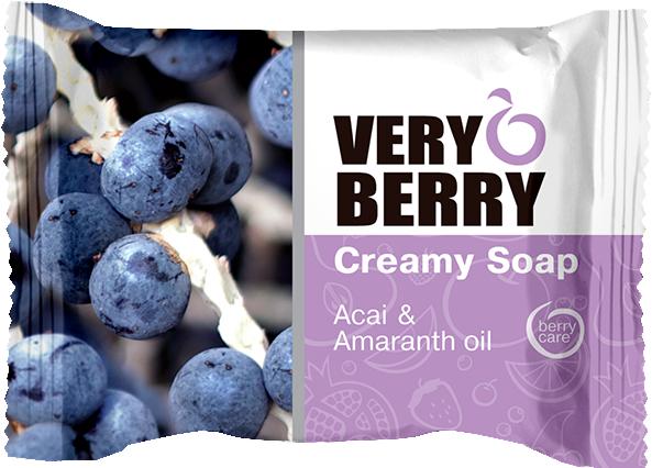 Krémové mýdlo - Very Berry Acai & Amaranth Oil