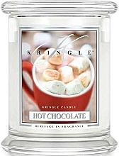 Parfémy, Parfumerie, kosmetika Vonná svíčka ve skle - Kringle Candle Hot Chocolate
