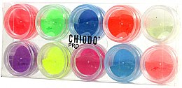 Parfémy, Parfumerie, kosmetika Fluorescenční sada na design nehtů - Chiodo Pro Puder