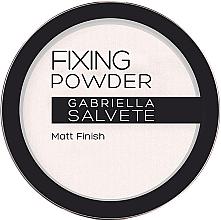 Parfémy, Parfumerie, kosmetika Fixační pudr - Gabriella Salvete Fixing Transparent Powder