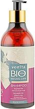 Parfémy, Parfumerie, kosmetika Bio šampon na vlasy Keratin, regenerace vlasů - Venita Bio Natural Care Keratin Shampoo