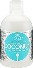 Parfémy, Parfumerie, kosmetika Vyživující a zpevňující šampon s kokosovým olejem - Kallos Cosmetics Coconut Shampoo