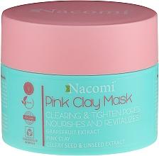 Parfémy, Parfumerie, kosmetika Maska s růžovou hlínou - Nacomi Pink Clay Mask