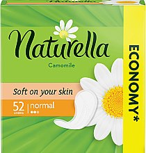 Parfémy, Parfumerie, kosmetika Hygienické vložky, 52 ks - Naturella Camomile Normal