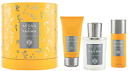 Parfémy, Parfumerie, kosmetika Acqua Di Parma Colonia Pura - Sada (edc/100ml + sh/gel/75ml + deo/50ml)