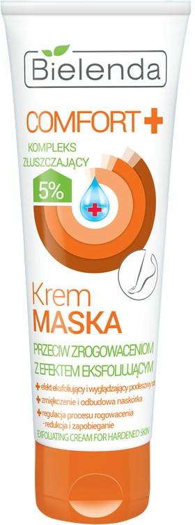 Změkčující krém-maska na nohy - Bielenda Comfort Exfoliating Cream For Hardened Skin — foto N1