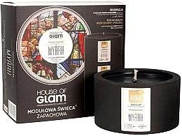 Parfémy, Parfumerie, kosmetika Aromatická svíčka - House of Glam Frankincense Myrrh Candle