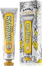 Parfémy, Parfumerie, kosmetika Osvěžující zubní pasta - Marvis Rambas Limited Edition Toothpaste