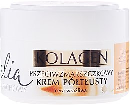 Parfémy, Parfumerie, kosmetika Krém proti vráskám pro citlivou plet' - Celia Collagen Cream