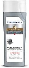 Parfémy, Parfumerie, kosmetika Šampon pro stimulaci vlasového růstu pro šedivé vlasy - Pharmaceris H-Stimutone Specialist Shampoo Gray Hair Preventing & Hair Growth Stimulating