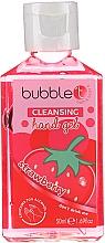 """Parfémy, Parfumerie, kosmetika Antibakteriální čisticí gel na ruce """"Jahoda"""" - Bubble T Cleansing Hand Gel Strawberry"""
