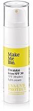 Parfémy, Parfumerie, kosmetika Ultrajemný krém na obličej SPF30 - Make Me Bio Ultra Light Face Cream SPF30