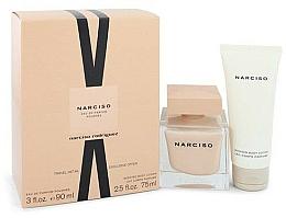Parfémy, Parfumerie, kosmetika Narciso Rodriguez Narciso Poudree - Sada (edp/90ml + b/lot/75 ml)
