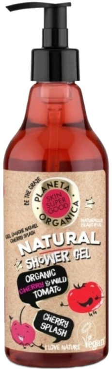 Sprchový gel - Planeta Organica Cherry Splash Skin Super Food Shower Gel — foto N1