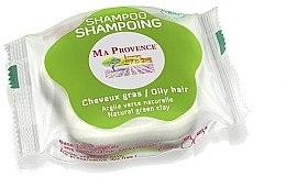 Parfémy, Parfumerie, kosmetika Tuhý biošampon pro mastné vlasy ''Zelená hlína'' - Ma Provence Shampoo