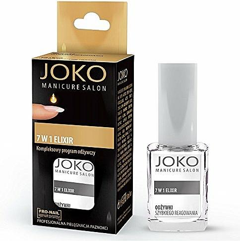 Elixír pro nehty - Joko Manicure Salon 7 in 1 Elixir — foto N1