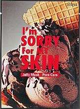 Parfémy, Parfumerie, kosmetika Látková pleťová maska  - Ultru I'm Sorry For My Skin Pore Care Mask
