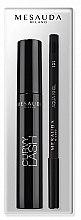 Parfémy, Parfumerie, kosmetika Sada - Mesauda Milano Curvy Lash (mascara/13ml + eye/p/1.4g)