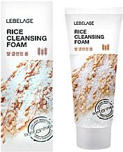 Parfémy, Parfumerie, kosmetika Rýžová pěna - Lebelage Rice Cleansing Foam