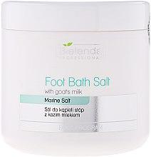 Parfémy, Parfumerie, kosmetika Sůl na pedikúru s kozím mlékem - Bielenda Professional Foot Bath Salt With Goat's Milk