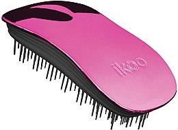 Parfémy, Parfumerie, kosmetika Kartáč na vlasy - Ikoo Home Cherry Metallic Brush