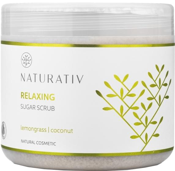 Cukrový peeling na tělo - Naturativ Naturativ Relaxing Body Sugar Scrub — foto N2