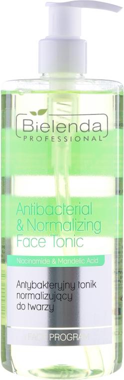 Antibakteriální a normalizující tonikum - Bielenda Professional Face Program Antibacterial & Normalizing Face Tonic