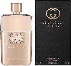 Parfémy, Parfumerie, kosmetika Gucci Guilty Eau de Toilette Pour Femme - Toaletní voda