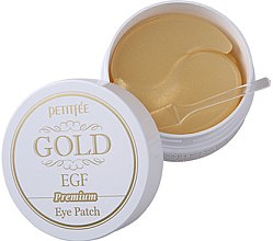 Parfémy, Parfumerie, kosmetika Hydrogelové náplasti pod oči Premium se zlatem a EGF - Petitfee & Koelf Premium Gold & EGF Eye Patch