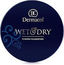Pudrový make-up - Dermacol Wet & Dry Powder Foundation — foto N2