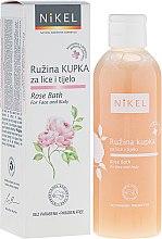 Parfémy, Parfumerie, kosmetika Pěna do koupele na obličej a tělo - Nikel Rose Bath