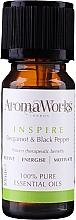 Parfémy, Parfumerie, kosmetika Směs esenciálních olejů - AromaWorks Inspire Essential Oil