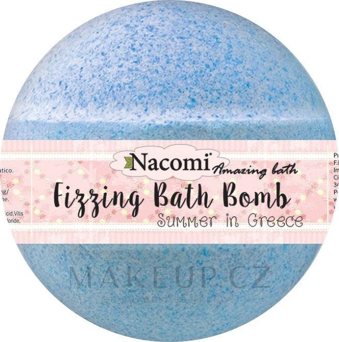 Bomba do koupele - Nacomi Fizzing Bath Bomb Summer in Greece — foto 130 g