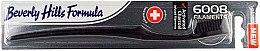 Parfémy, Parfumerie, kosmetika Zubní kartáč, měkký - Beverly Hills Formula 6008 Filament Charcoal Toothbrush