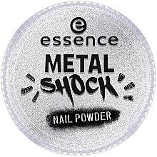 Parfémy, Parfumerie, kosmetika Pudr na nehty - Essence Metal Shock Rainbow Nail Powder