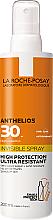 Parfémy, Parfumerie, kosmetika Ultra lehký opalovací sprej na obličej a tělo SPF30+ - La Roche-Posay Anthelios Invisible Spray