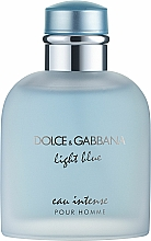 Parfémy, Parfumerie, kosmetika Dolce & Gabbana Light Blue Eau Intense Pour Homme - Parfémovaná voda